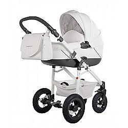 DaVos Jumper Light Pure Leather 2 in1 Modern Design Pram and Pushchair