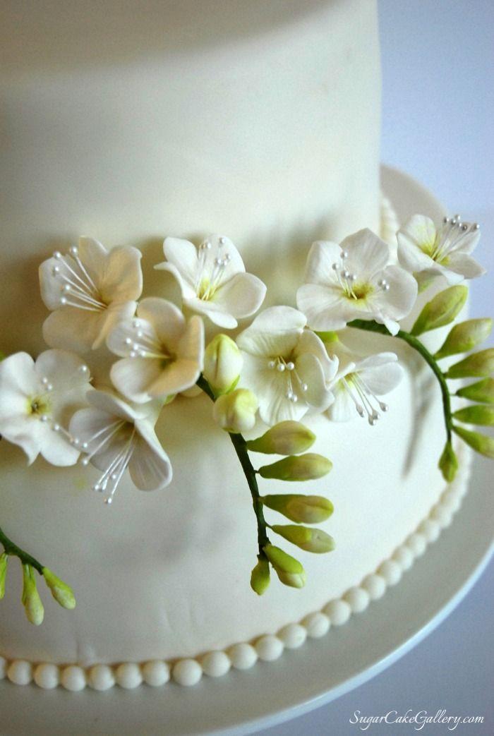 Freesia Cake Topper Jpg 700 215 1043 Sugarflowers Pinterest