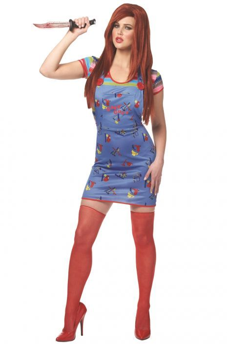 2017 Sexy Chucky Adult Costume
