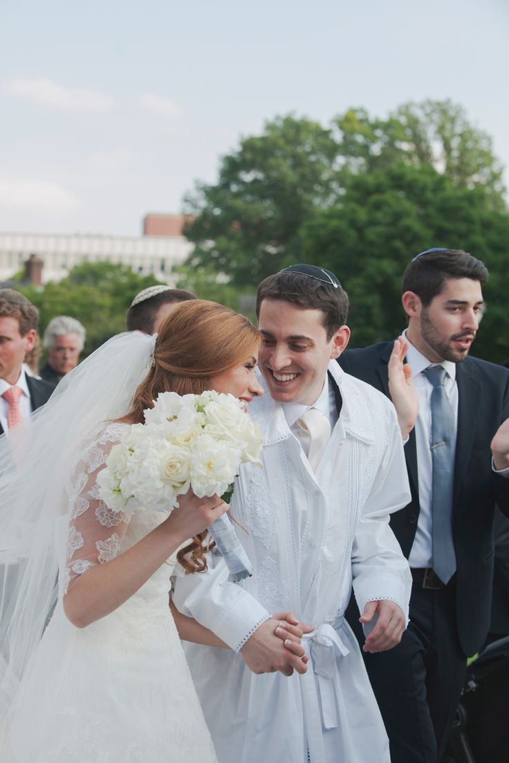 Outdoor Jewish Wedding Ceremony @ The Dearborn Inn Hotel in Dearborn, MI // Photo Credit: Tide and Velvet — Lifestyle Wedding Photography