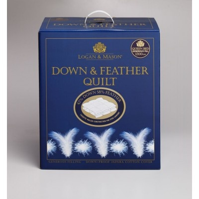 Down & Feather Quilt 42/58 by Logan & Mason