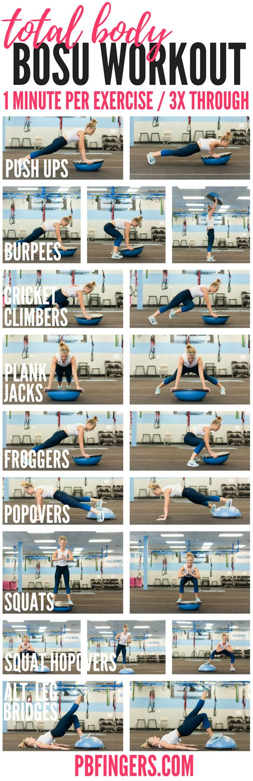 Total Body BOSU Workout
