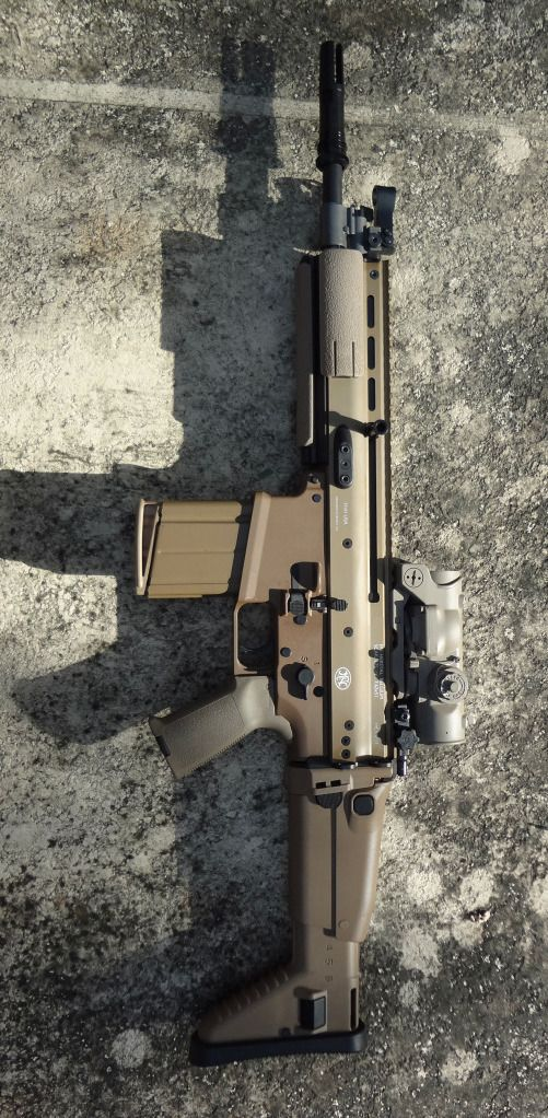 SBR FN SCAR 17 ,  Men Steal - Weapons #8