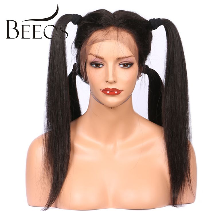 Find More Human Wigs Information about BEEOS 150 Density Full Lace Wigs For Black Women Silky Straight Brazilian Remy Hair Glueless Wigs With Baby Hair Pre Plucked,High Quality wigs for blacks,China wigs for black women Suppliers, Cheap wig with baby hair from BEEOS Official Store on Aliexpress.com