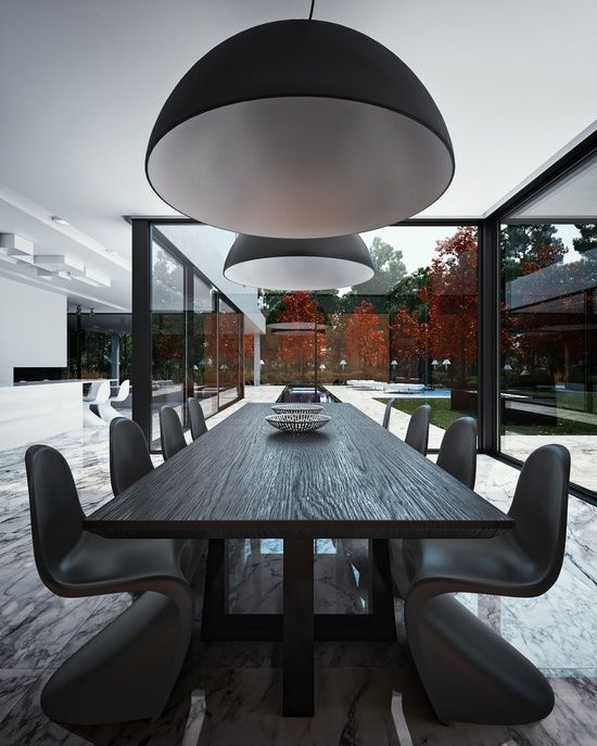 justthedesign:    Dining Room Organic Interior Design By STUDIO.O.