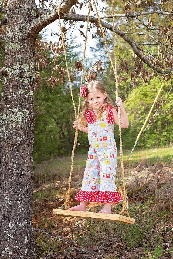 Farm Animal Birthday Outfit  Barnyard  Girls Ruffle Pants