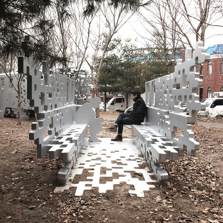 located in suin line memorial park, yong ju lee has designed 'dispersion' for restoring part of a narrow-gauge train at one end and melting the installation into its surroundings at the other.