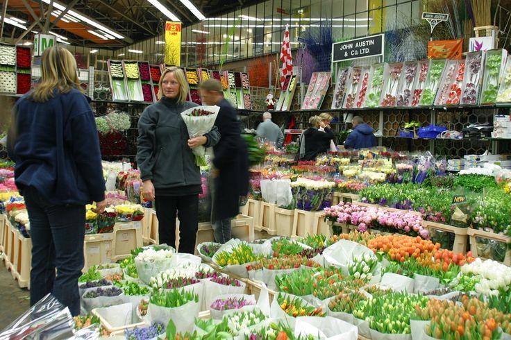 New Covent Garden Flower Market from http://LondonTown.com