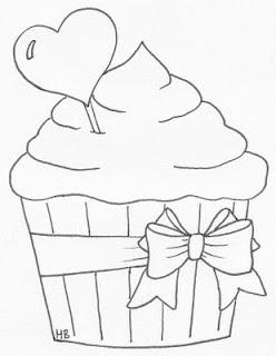 Dibujo de cupcake