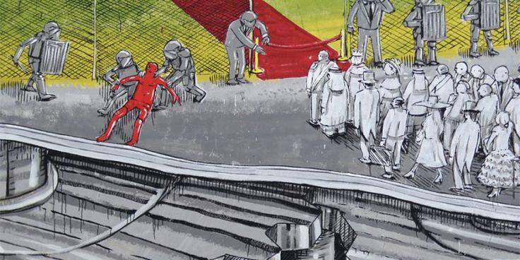 Les Peintures murales de Blu en Italie évoquent les Problèmes environnementaux - Chambre237