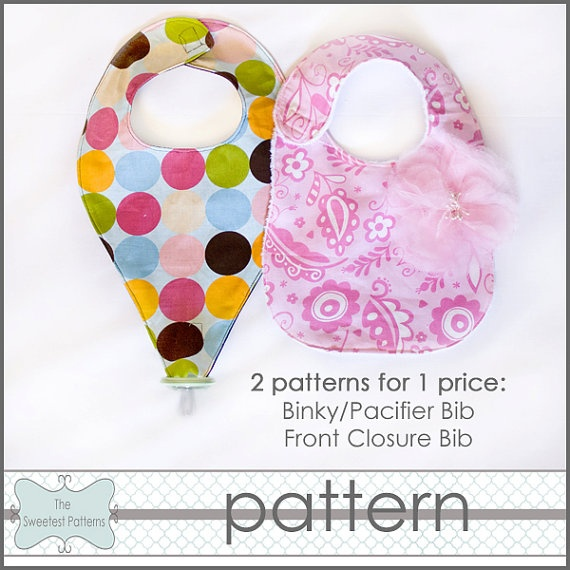 Binky Pacifier Bib -who was asking me about this?