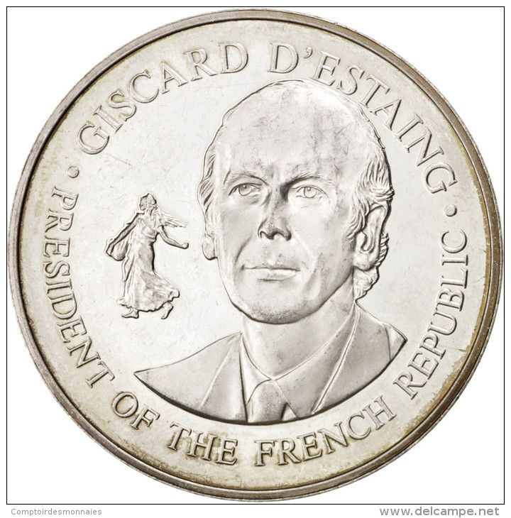 Giscard D'Estaing, United States Bicentennial Visit, Médaille - France