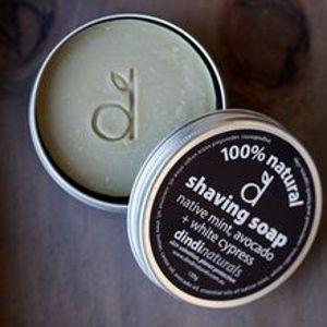 Dindi shaving soap in tin