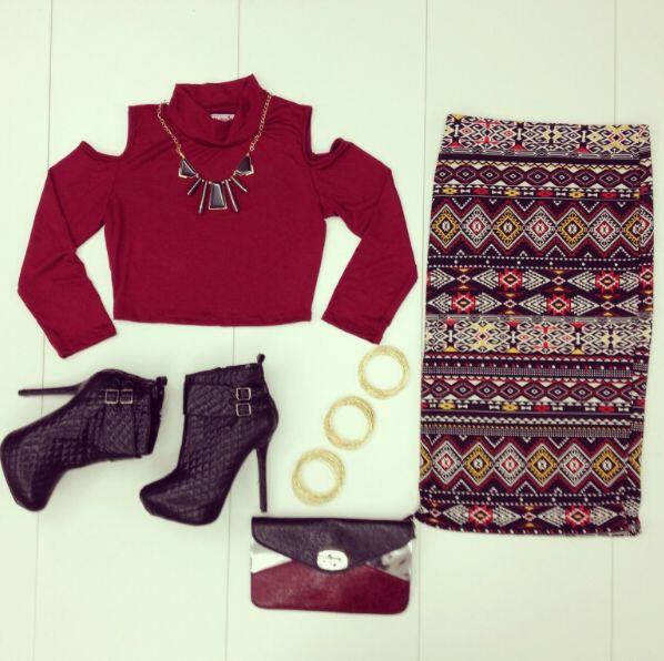 #aztec #outfit #ootd #heels #fashion #MadRag #madragstores #madragstyle