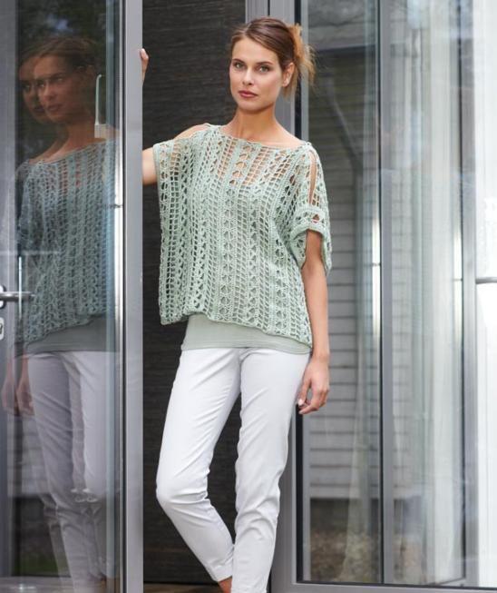 Ladies Crochet Top pattern