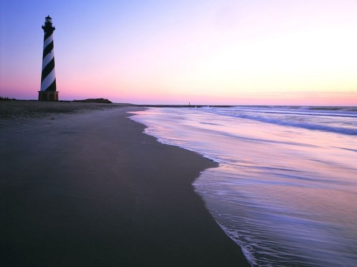 North Carolina�s Outer Banks (that�s OBX to you and your bumper sticker) are some of the most gorgeous beaches in America. And there�s still plenty to do if you take a break from sunbathing, including the North Carolina Aquarium in Roanoke, the memorial commemorating the Wright Brothers� historic first flight in Kitty Hawk, and a series of iconic lighthouses, including the famous barbershop pole-style swirled one at Cape Hatteras. End the day with fried oysters in Nags Head�this is the…