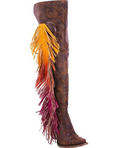 These are so fun! Junk Gypsy by Lane Women's Spirit Animal Tall Boots - Snip Toe  - Country Outfitter