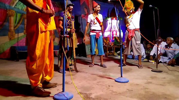 Ramayan natak in gandu raja roll comedy video