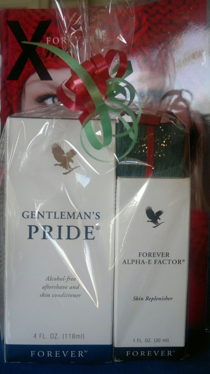 Gentlemans Pride €16.08 Alpha E Factor €35.66 Packing is just a suggestion.  Items sold seperatley on website.  Please email me at dee4everaloe@gmail.com to enquire about combination gift sets.  You're imagination is the only limit.