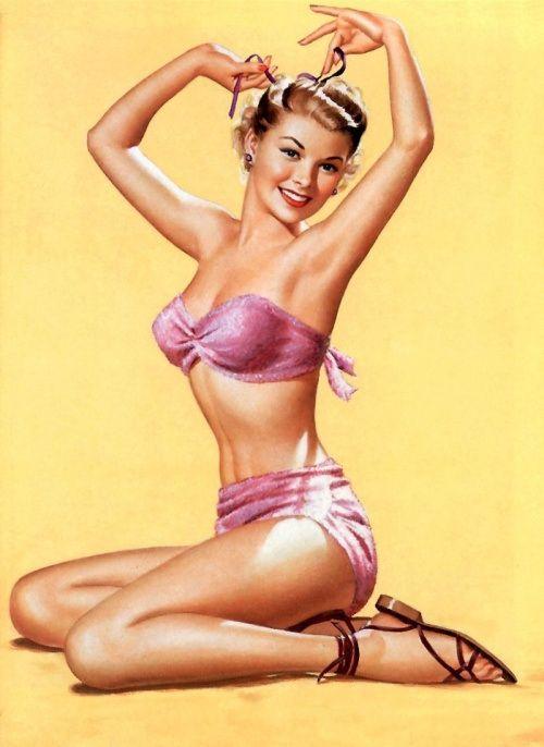 Vintage Pin Up Girls - pin-up-girls Photo