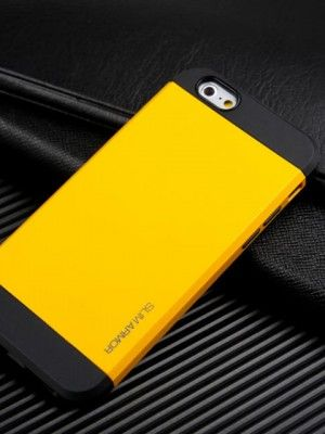 yellow slim armor iPhone 6 case