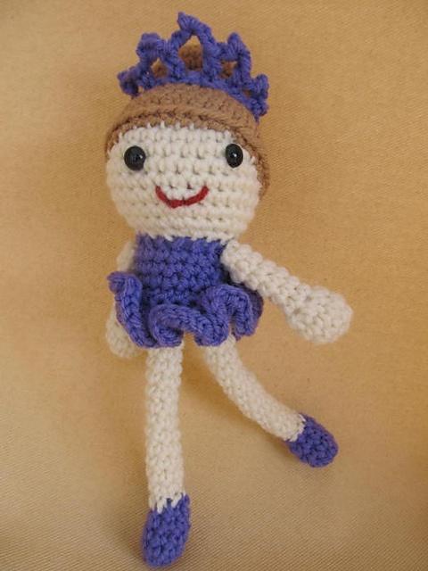 Ravelry: Sugar Plum Fairy Ballerina Amigurumi Crochet Pattern pattern by Deb Richey