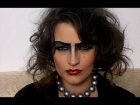 FRANK-N-FURTER COSTUME MAKE-UP  (Watch this on youtube, the video is a bit stretched out on pinterest)