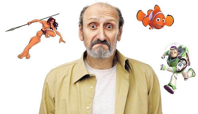 Jose Luis Gil y sus personajes en Disney