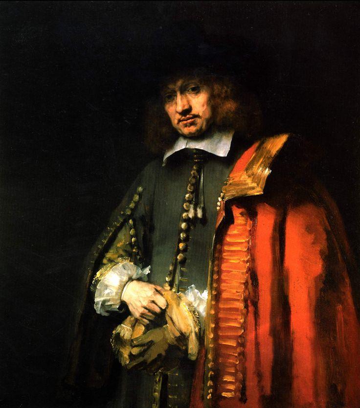 Rembrandt Most Famous Paintings | Rembrandt_Harmensz._van_Rijn, Portrait de Jan Six , 1656, huile sur ...
