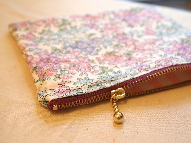 Liberty zipper pouches