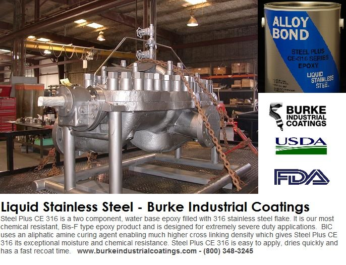 17 best images about liquid stainless steel corrosion for Industrial paint for metal