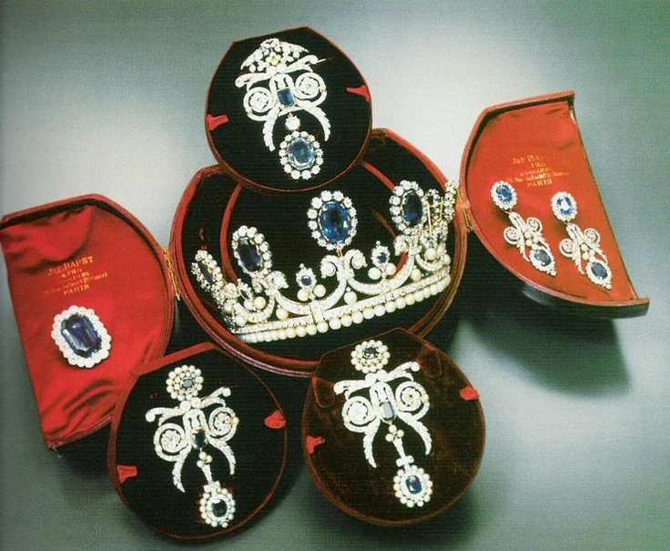 French Crown Jewels...imagine opening this treasure cache to select your jewelry!