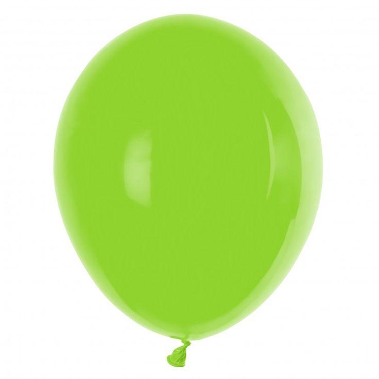GT90 Pastel - Ballonnen Appel groen - Lime groen 100 stuks 29 cm
