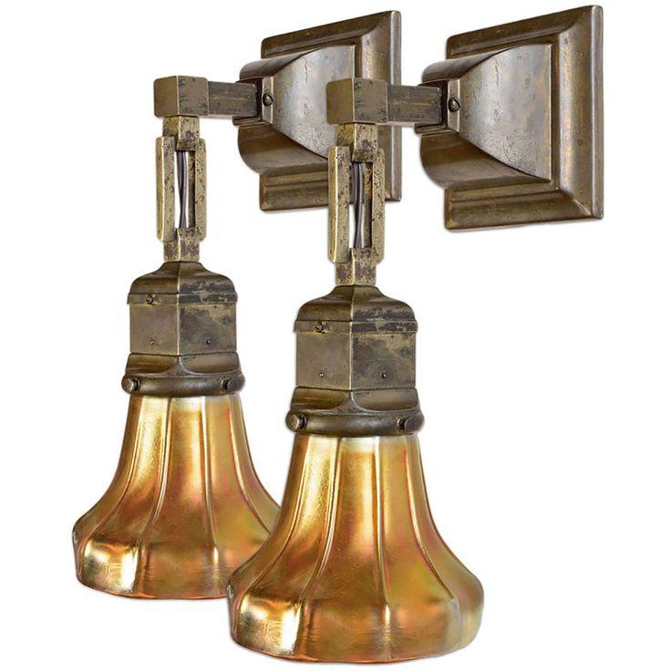 78 best images about arts crafts lighting on pinterest for Modern craftsman lighting