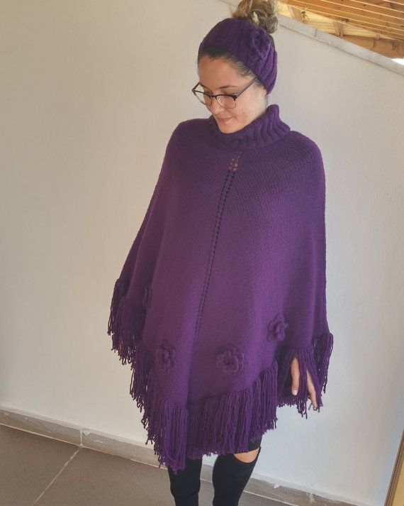 Hey, I found this really awesome Etsy listing at https://www.etsy.com/listing/473882471/poncho-mum-and-girl-set-knitting