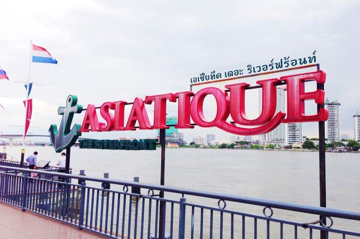 Asiatique, open at 05.00 pm