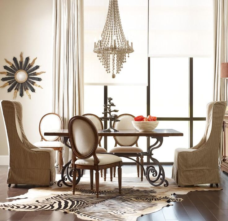 Kincaid Furniture Artisans Shoppe Dining 7 Pc Table W Oval And Hostess Chairs