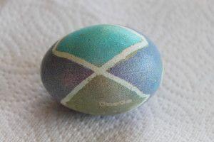 Pysanky-Inspired Easter Eggs