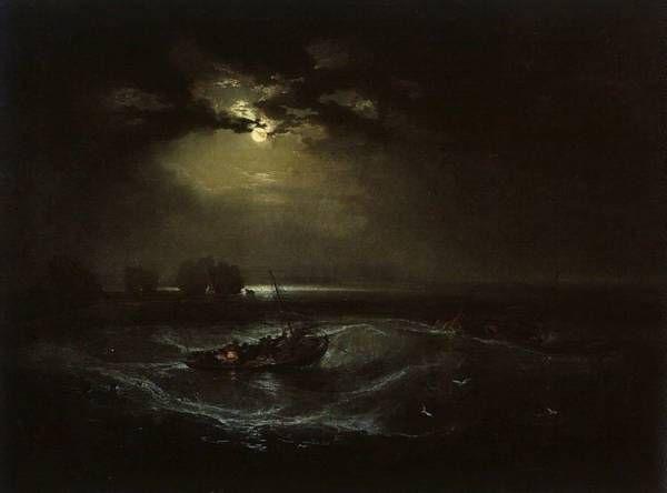 ウィリアムス・ターナー「海の漁師たち」