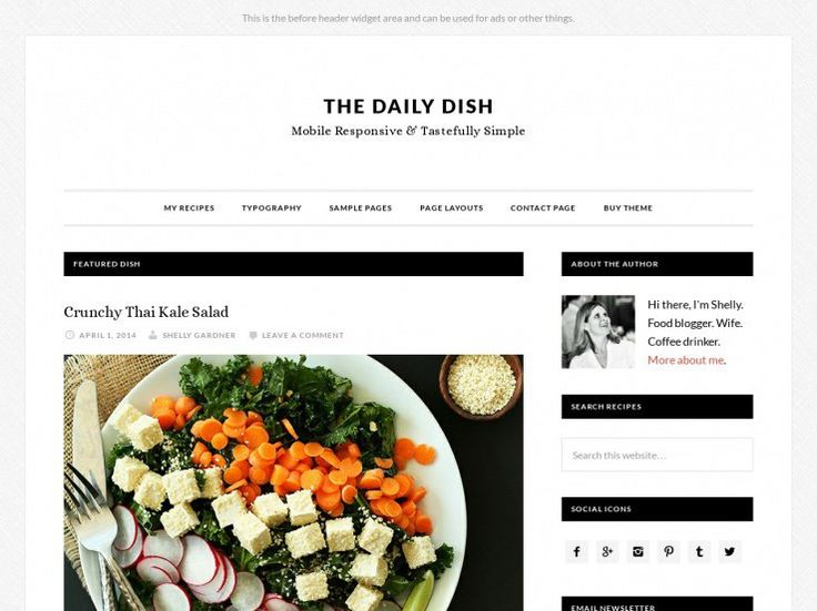 14 best best food blog wordpress themes images on pinterest 60 best wordpress food blog themes 2018 forumfinder Gallery