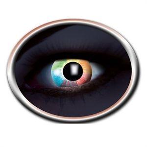 Regnbue UV Kontaktlinse Danmarks billigste kontaktlinser med farver der lyser op ved UV lys. Super flotte kontaktlinser med alle regnbuens farver. #uv #kontaktlinser