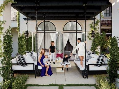 Khloé and Kourtney Kardashian share a TV show, a neighborhood, and even a decorator: the ingenious Martyn Lawrence Bullard. But when it comes to living, the celebrity siblings have their own distinctive styles