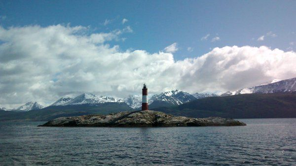 Faro del fin del mundo en Ushuaia – Argentina