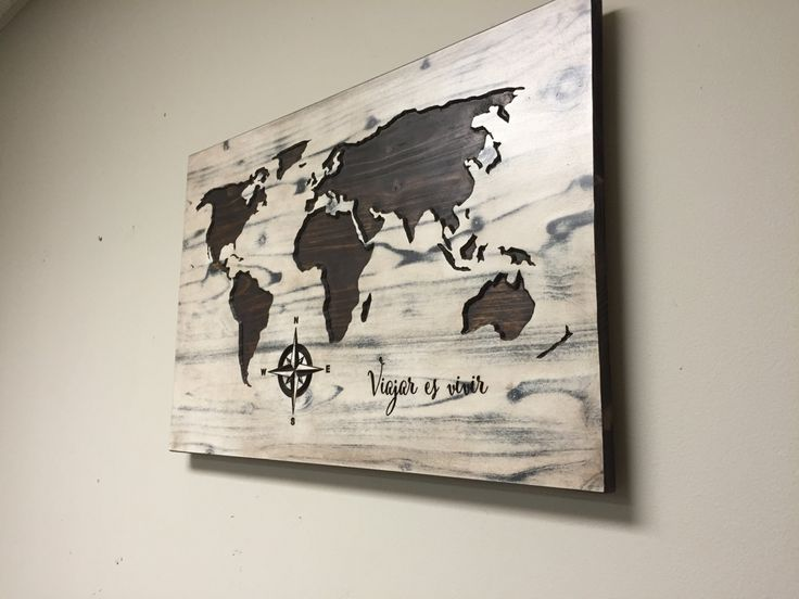 World Map Wood Wall Art 82 best wood wall art images on pinterest | wood walls, wood wall