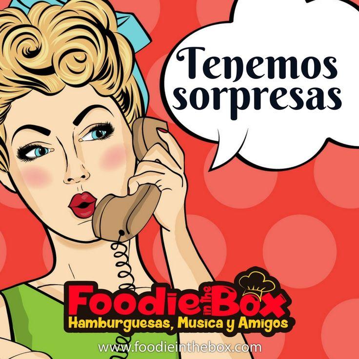 #FoodieInTheBox Te traemos una sorpresa para los jueves. ¡Alista apetito! http://foodieinthebox.com/