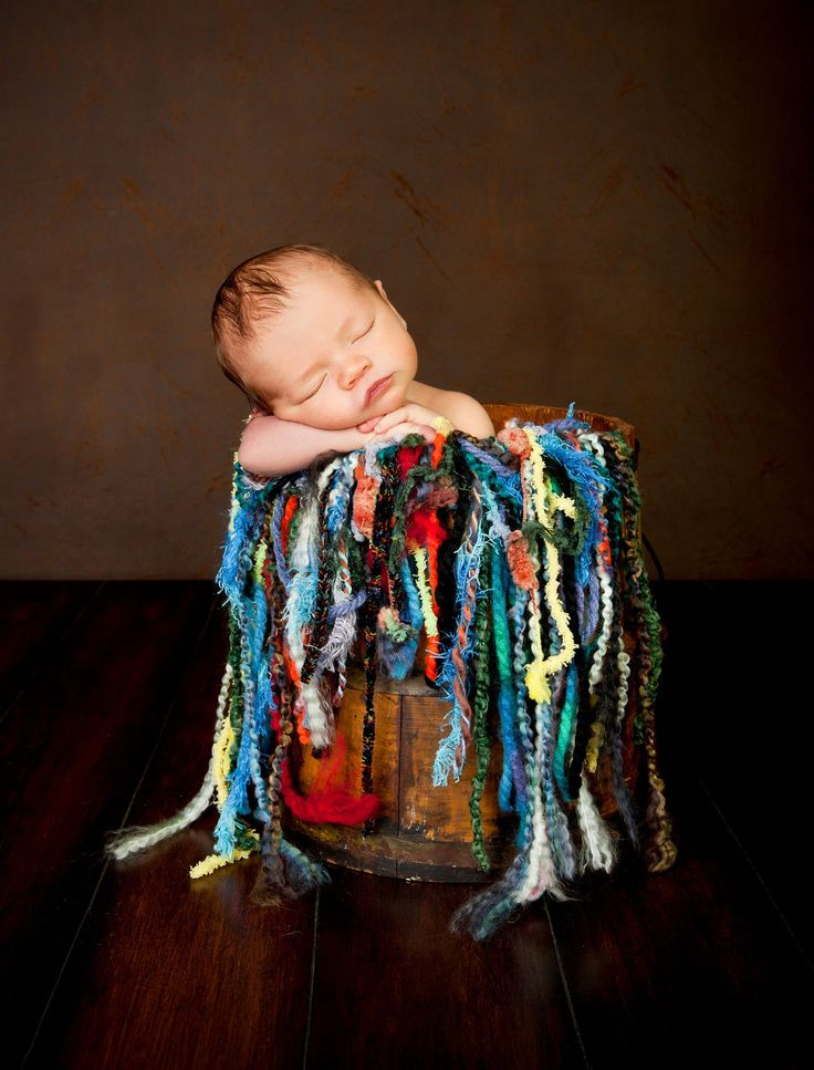 Mini Fringe Photo Prop Use as Scarf OR Baby Blanket by BabyBird