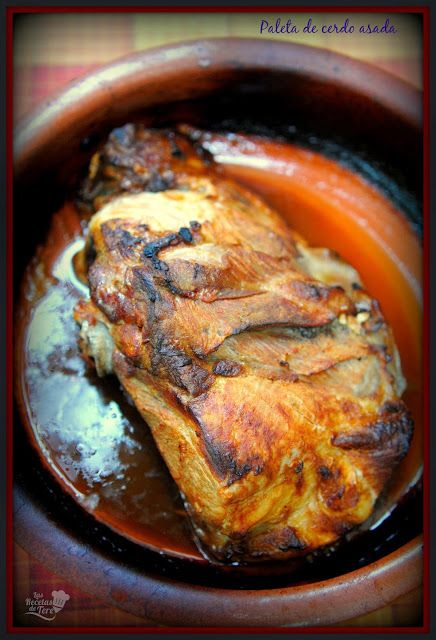 Paleta de cerdo al horno, un manjar! http://www.tererecetas.com/2015/05/paleta-de-cerdo-asada-al-horno.html   #Foodporn #recipes #recetas #cooking #cocina #foodie #food #goodnight