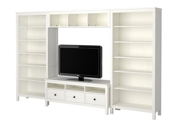 Entertainment Tv Stand Ikea Hemnes ~ Pin by Marie E on Home  Family Room Ideas  Pinterest