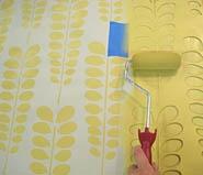 Fun stencil idea. Orla style.: Cut Edge Stencil, Stencil Ideas, Stencil Patterns, Wall Stencil, Bathroom Wall, Laundry Rooms, Fun Stencil, Cutting Edge Stencils, Accent Wall