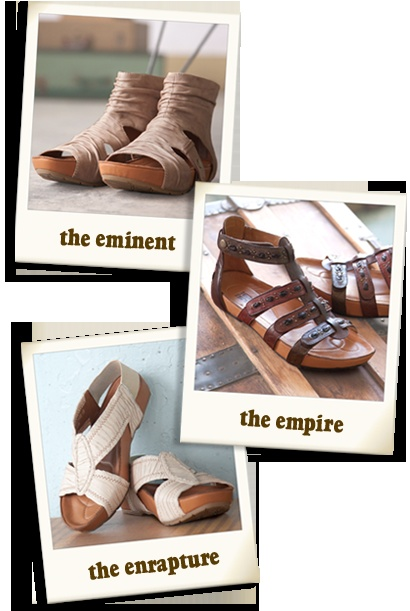 Remember Earth shoes in the '70s?  They are still around!  Love them!